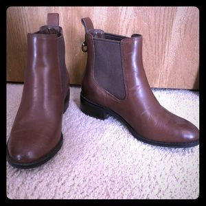 Brown Cole Haan Chelsea Boots